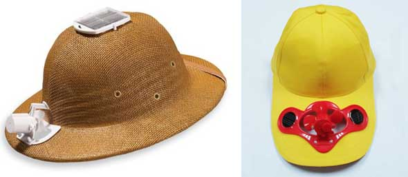 Solar Powered Self-Cooling Summer Hats Manufacturers